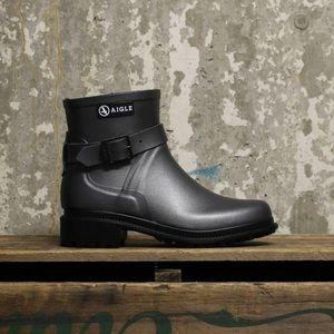 AIGLE Macadames Low Ankle Rain Boots